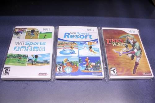 3 Cajas Custom Para Tus Juegos De Wii (juegos No Incluidos)