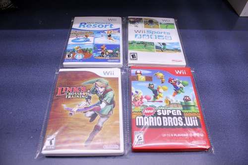 4 Cajas Custom Para Tus Juegos De Wii (juegos No Incluidos)