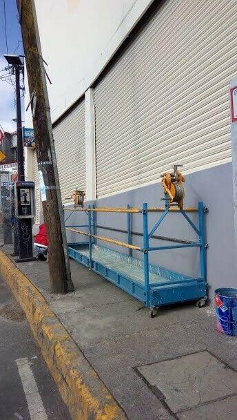 Alquiler de hamaca para construcción