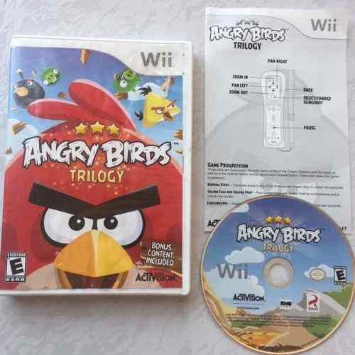Angry Birds Trilogy Juegazo Completo Para Tu Wii Chécalo