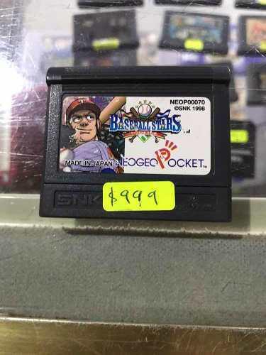 Baseball All Star Neo Geo Pocket Envió Gratis Por Dhl/fedex
