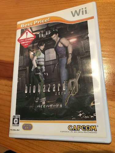 Biohazard Zero Para Wii Juego Japones Juego Fisico Original