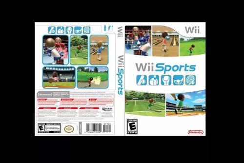Caja Custom Para Wii Sports (el Juego No Esta Incluido)