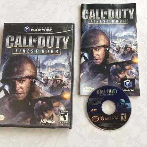 Call Of Duty Finest Hour Juegazo Completo Para Tu Gamecube