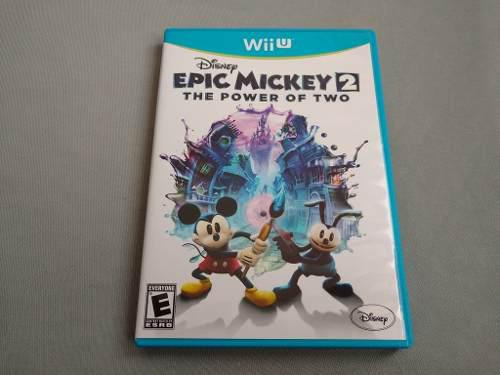 Epic Mickey 2 The Power Of Two Original Para Nintendo Wii U