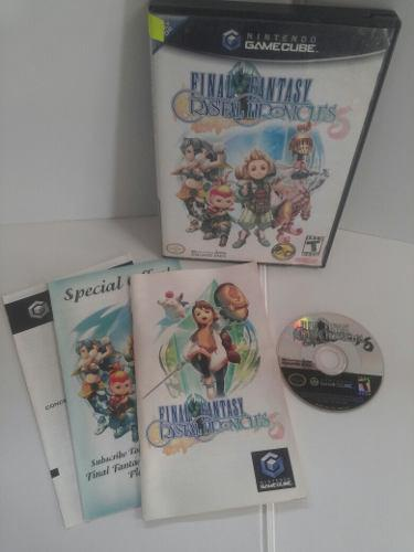 Final Fantasy Crystal Chronicles De Game Cube