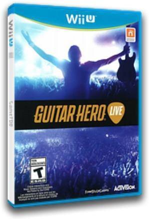 Guitar Hero Live Wii U Nuevo Sellado Juego