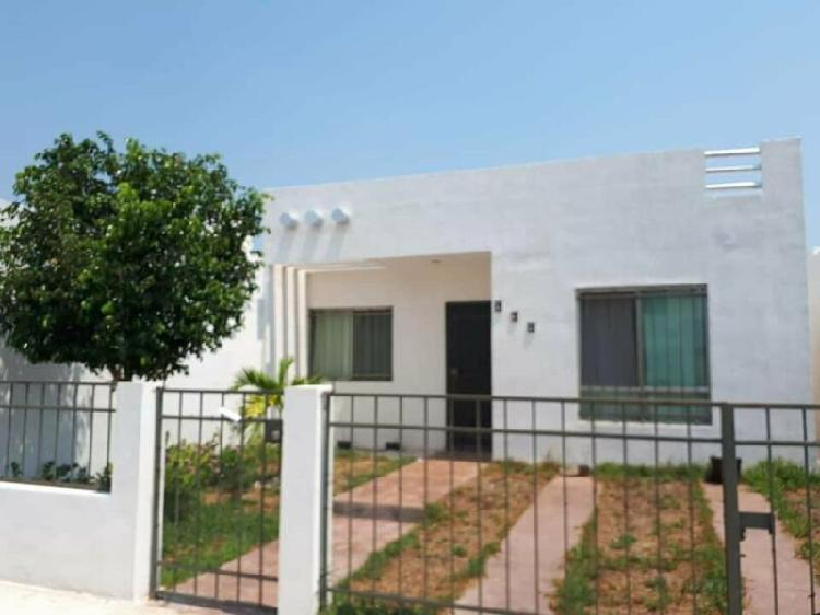 Hermosa casa de un piso en venta en Fraccionamiento Las