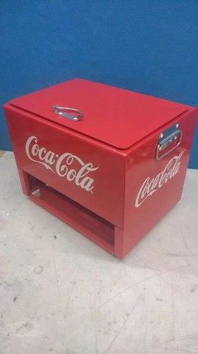 Hielera Party Coca Cola Metalica