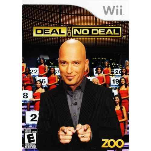 Juego Para Wii Deal Or No Deal Original Buen Estado Funciona