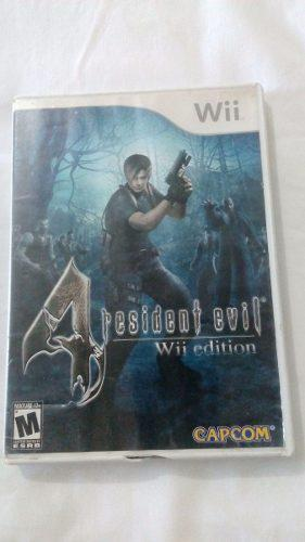 Juego Resident Evil 4 Nintendo Wii O Wii U