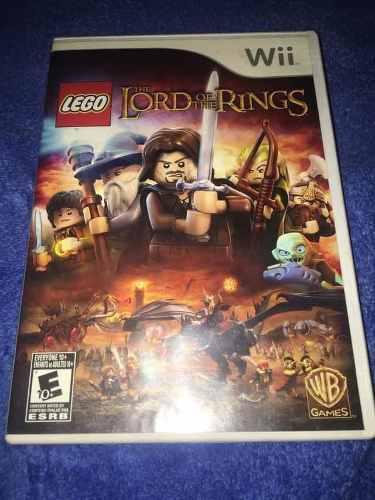Juego Wii: El Señor De Los Anillos // The Lord Of The Rings