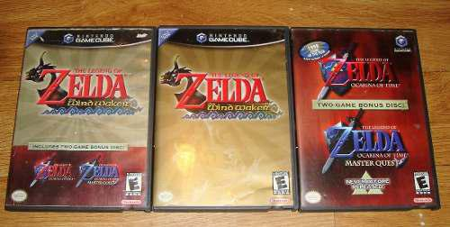 Juegos De Zelda Para La Game Cube (ss02016)