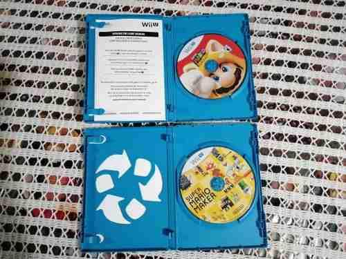 Juegos Para Wii U: Super Mario Maker Y Super Mario 3d World