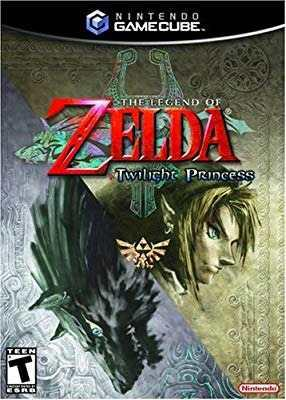 Legend Of Zelda Twilight Princess Gamecube