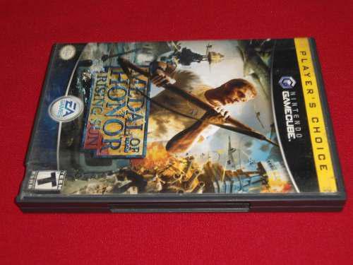 Longaniza Games * Game Cube Medal Of Honor Rising Sun