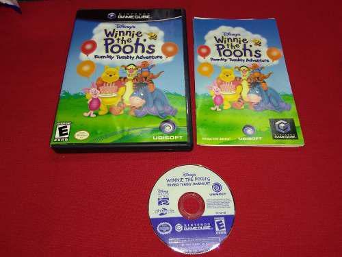 Longaniza Games * Game Cube Winnie The Pooh
