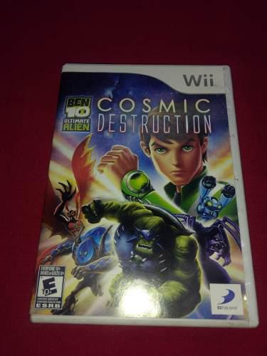 Longaniza Games * Wii - Wii U Ben 10 Cosmic Destruction