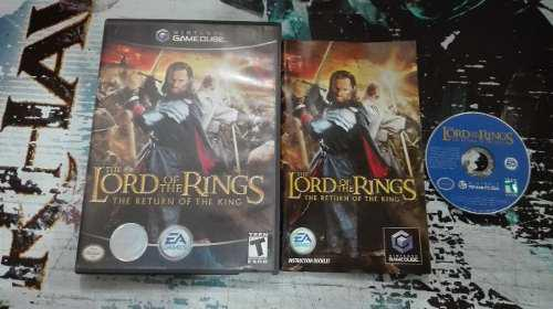 Lord Of The Ring Return Of King Completo Nintendo Game Cube