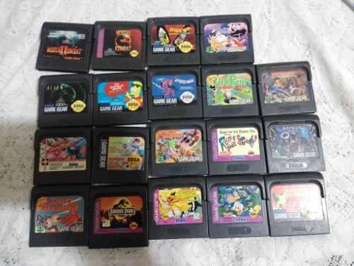 Lote De 19 Juegos Para Gamegear (mortal Kombat,street Of Rag
