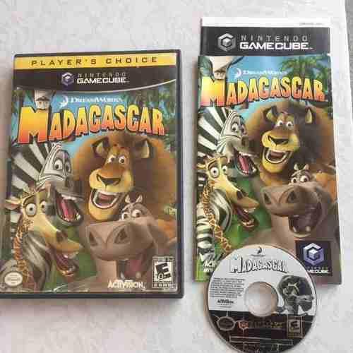 Madagascar Juegazo Completo Para Tu Gamecube Chécalo