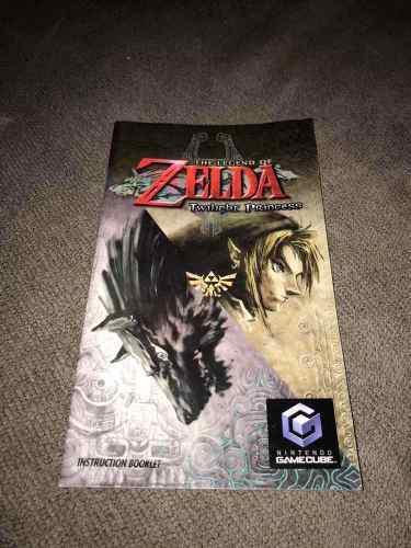 Manual Zelda Twilight Princess!!! Gamecube