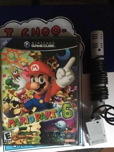 Mario Party 6 Con Micrófono En Muy Buen Estado:)