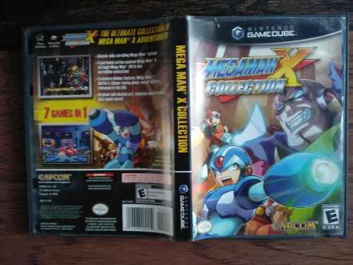 Megaman X Collection Nintendo Game Cube Solo Caja Y Manual