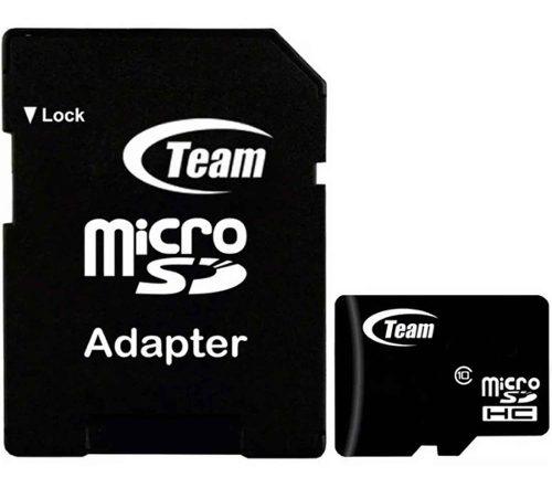 Memoria Micro Sd 16gb Teamgroup Clase 10 Full Hd Tusdh16gcl1