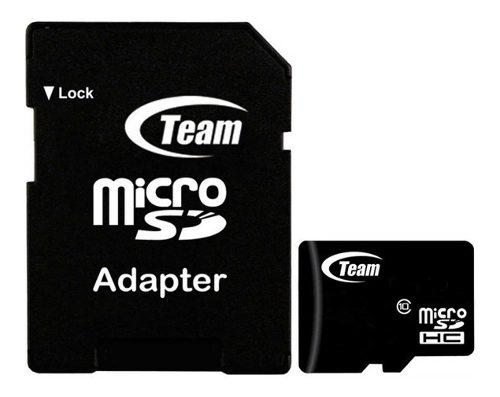 Memoria Micro Sd 32gb Teamgroup Clase 10 Full Hd Tusdh32gcl1
