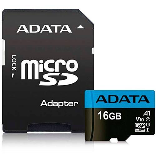 Memoria Micro Sdxc 16gb Adata V10 Clase 10 A1 Juegos Full Hd