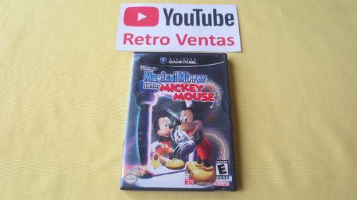 Mickey Mouse Magical Mirror Gamecube 1 Player Espejo Magico