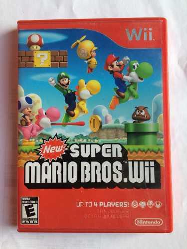 New Super Mario Bros / Wii Buen Estado Promocion