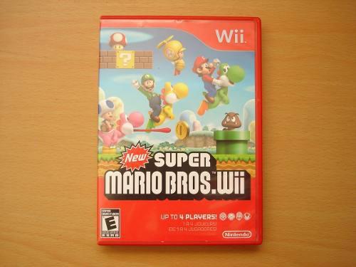 New Super Mario Bros Wii Completo Gran Estado - Rtg **
