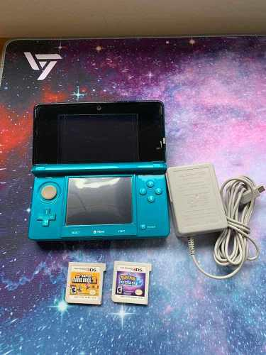 Nintendo 3ds Incluido Con Pokémon Moon Y Super Mario Bros 2