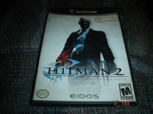 Nintendo Game Cube Hitman 2 Silent Assassin N Gc