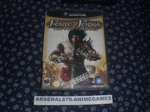 Nintendo Game Cube Prince Of Persia The Two Thrones N Gc