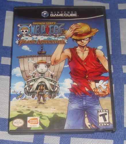 One Piece Grand Adventure Para Gamecube