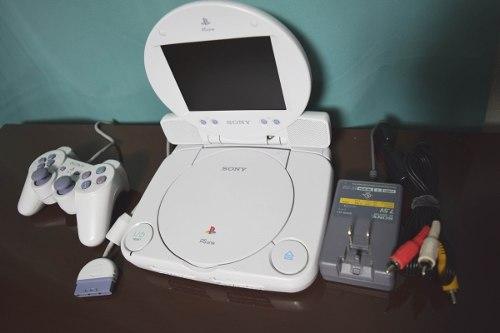 Playstation One Psone Con Pantalla Lcd En Buen Estado