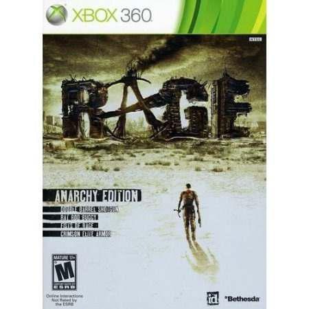 Rage Anarchy Edition Xbox 360 En Buen Estado