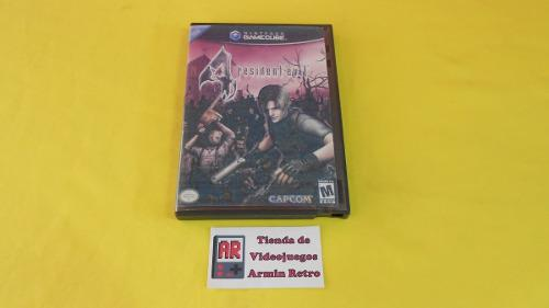 Resident Evil 4 Gamecube *portada Custom*