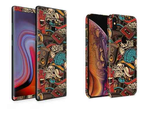 Skin Grafiti Para Apple Samsung Huawei Lg Sony Xiaomi Etc