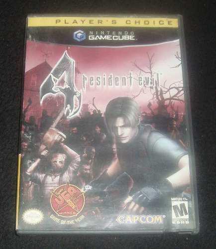 Solo Caja Resident Evil 4 Para Gamecube