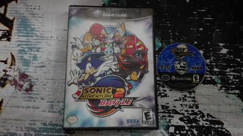 Sonic Adventure Battle 2 Sin Instructivo Nintendo Game Cube