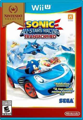 Sonic All Stars Racing Transformed.-wii U