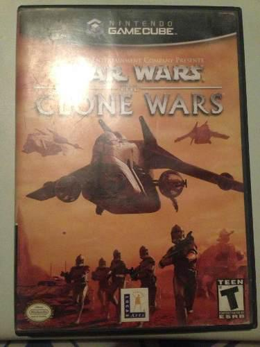 Star Wars Clone Wars Nintendo Game Cube