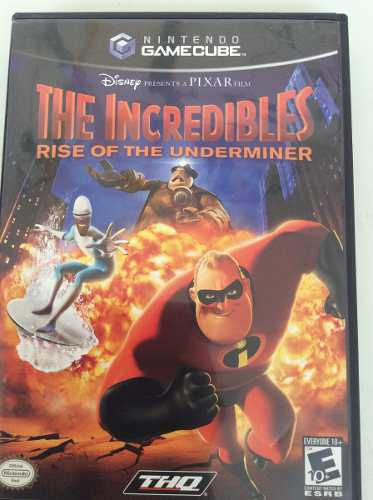 The Incredibles The Rise Of The Underminer Nintendo Gamecube