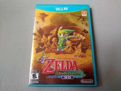 The Legend Of Zelda The Wind Waker Hd Primera Edicion Wii U
