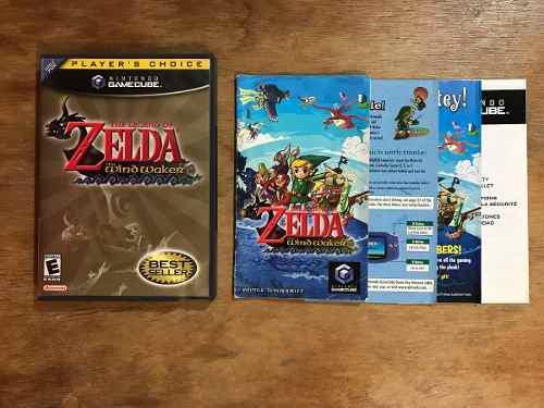 The Legend Of Zelda Wind Waker Completo Nintendo Gamecube