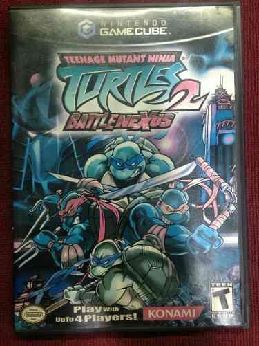 Tortugas Ninja 2 Tmnt Battle Nexus De Game Cube